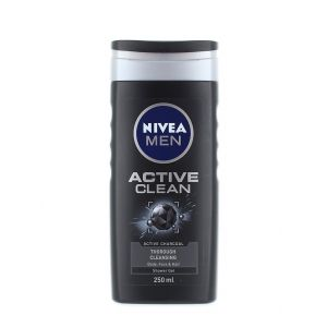 Nivea Gel de dus 250 ml Men Active Clean