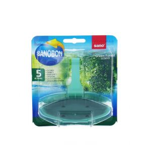 Sano Aparat odorizant wc 55 g Green Forest 5in1