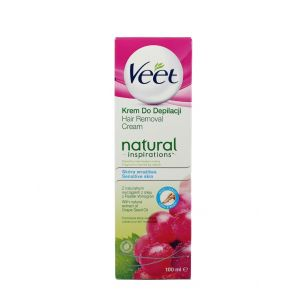 Veet Crema depilatoare 100 ml Natural Inspiration Sensitive Skin