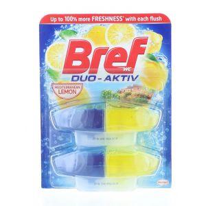 Bref Rezerva Odorizant WC Duo-Aktiv 2x50ml Lime&Mint