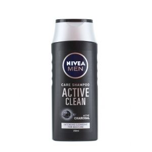Nivea Sampon barbati 250 ml Active Clean
