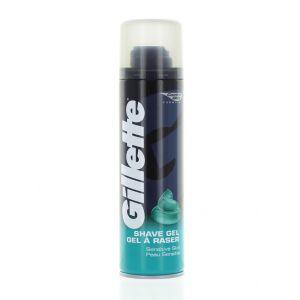 Gillette Gel de ras 200 ml Sensitive
