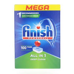 Finish Tablete pentru masina de spalat vase 100 buc All in 1