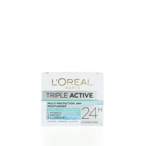 L'oreal Crema de fata hidratanta 50 ml Triple Active Normal