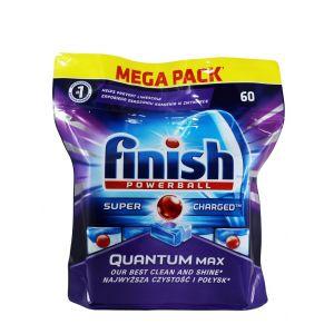 Finish Tablete pentru masina de spalat vase 60 buc Quantum Max