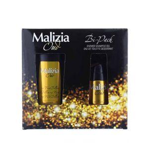 Malizia Caseta barbati:Gel de dus+Spray deodorant 250+150 ml Oud First Billion