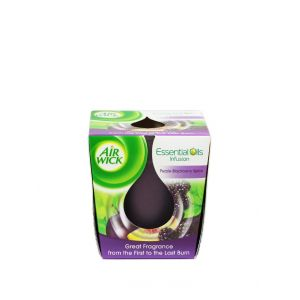 Airwick Lumanare odorizanta 1 buc Purple Blackberry Spice