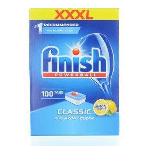 Finish Tablete pentru masina de spalat vase 100 buc Classic Lemon