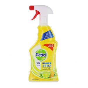 Dettol Solutie curatat multisuprafete cu pompa 750 ml Power&Fresh Lemon