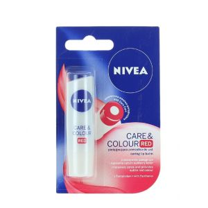 Nivea Balsam de buze 4.8 g Colour Red