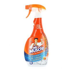 Mr. Muscle Solutie curatat suprafete baie cu pompa 500 ml Portocale