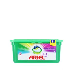 Ariel Detergent Capsule 3in1 28 buc Color