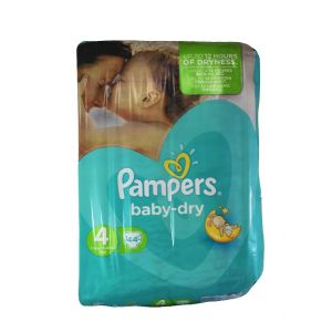 Pampers Scutece Nr. 4  9-14 kg 44 buc Baby-Dry