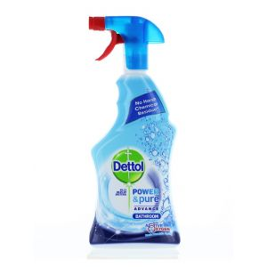 Dettol Solutie curatat baie cu pompa 750 ml Power&Pure Fresh Mountain Spring
