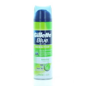 Gillette Gel de ras 200 ml Blue Sensitive