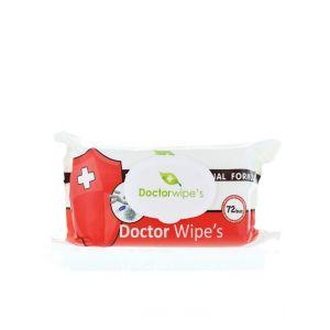 Dr. Wipe's Servetele umede antibacteriene 72 buc cu capac