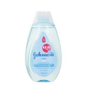 Johnson's baby Spuma de baie 300 ml Albastru