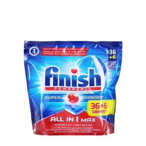 Finish Tablete pentru masina de spalat vase 42 buc All in 1 Max