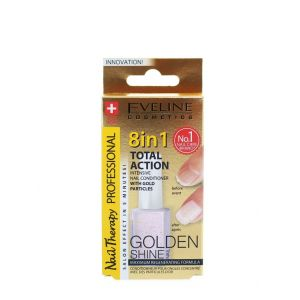 Eveline Tratament Unghii 12 ml Golden Shine 8 in1