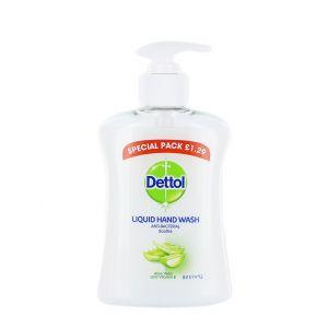 Dettol Sapun lichid cu pompa 250 ml Aloe Vera (exp:02.2020)