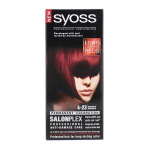 Syoss Vopsea de par Salonplex 4-23 Marsala