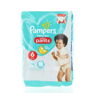 Pampers scutece chilotel nr. 6 Extra Large 15+ kg 19 buc