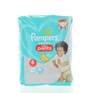 Pampers scutece chilotel nr. 6 Extra Large 15+ kg 21 buc
