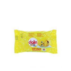 Dalin Servetele umede 15 buc Soft & Clean
