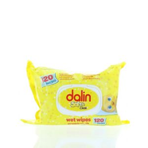 Dalin Servetele umede 120 buc Soft & Clean