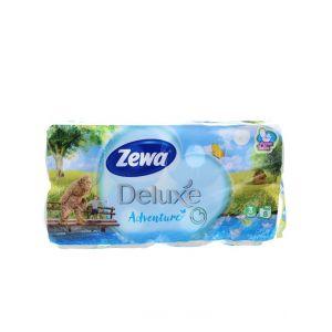 Zewa Hartie toaleta 3 straturi Deluxe 8 role Adventure