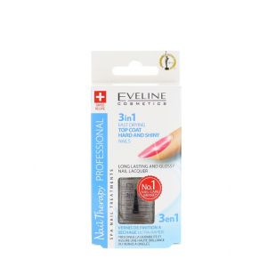 Eveline Tratament Unghii 12 ml 3in1 Hard & Shiny