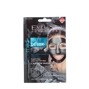 Eveline Masca de fata 2x5 ml 8in1 Matt Detox