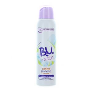 B.U. Spray Deodorant 150 ml Action Active Release