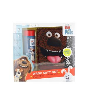 Secret Life of Pets caseta:Manusa baie+Spuma de baie 250 ml