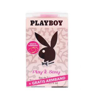 Playboy Parfum femei in cutie+Bratara 40 ml Play it Sexy