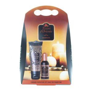 Tesori D'oriente caseta:Gel de dus + Parfum 250+100 ml Hammam