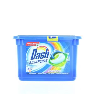 Dash Detergent Capsule 15 buc All in1 Salva Colore