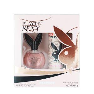 Playboy Caseta femei:Parfum+Spray deodorant 40+150ml Play it Sexy