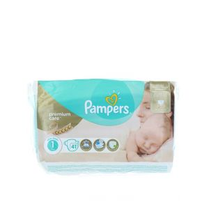 Pampers New Baby nr.1 2-5 kg 41 buc Premium Care