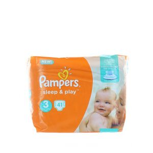 Pampers scutece Sleep&Play nr.3 41 buc
