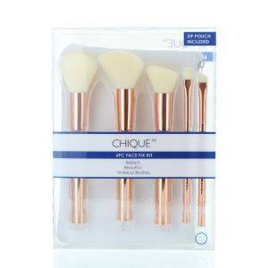 Chique Set Pensula pentru machiaj 5+1 Pensula+Gentuta BQU-SETR202