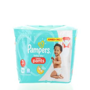 Pampers scutece chilotel nr. 3 Midi 6-11 kg 80 buc Baby-dry