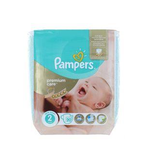 Pampers scutece nr. 2 3-6 kg 20 buc Premium Care