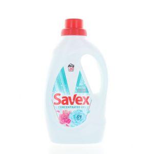 Savex Detergent lichid 1.1 L 20 spalari Whites&Colors