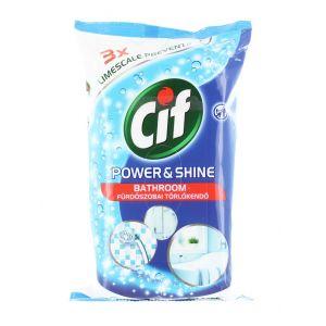 Cif Servetele umede baie 60 buc Power&Shine