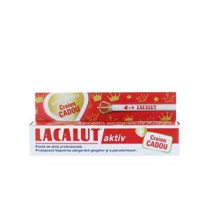 Lacalut Pasta de dinti 75 ml Aktiv+Creion Grafit