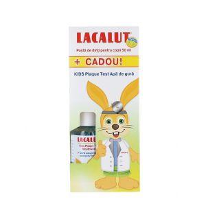 Lacalut Pasta de dinti pentru copii 4-8 ani+Apa de gura 50+50ml