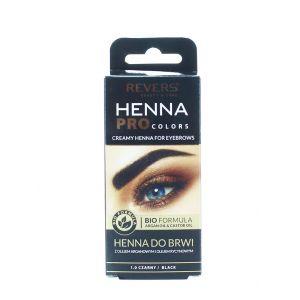 Revers Henna pentru sprancene 15 ml Negru