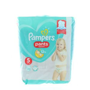 Pampers scutece chilotel nr. 5 Junior 12-17 kg 22 buc