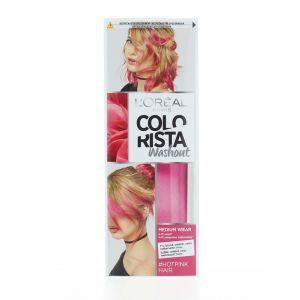L'oreal Vopsea temporara pentru par 80 ml Colorista Washout Hot Pink
